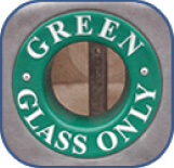 Green Glass Only