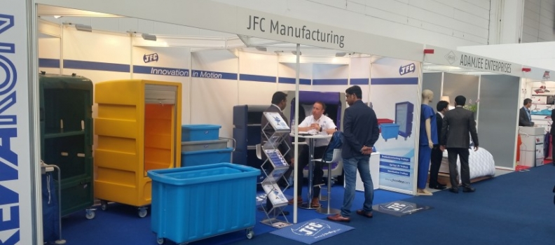 Visit JFC Trolleys at LCT CleanEx 2018